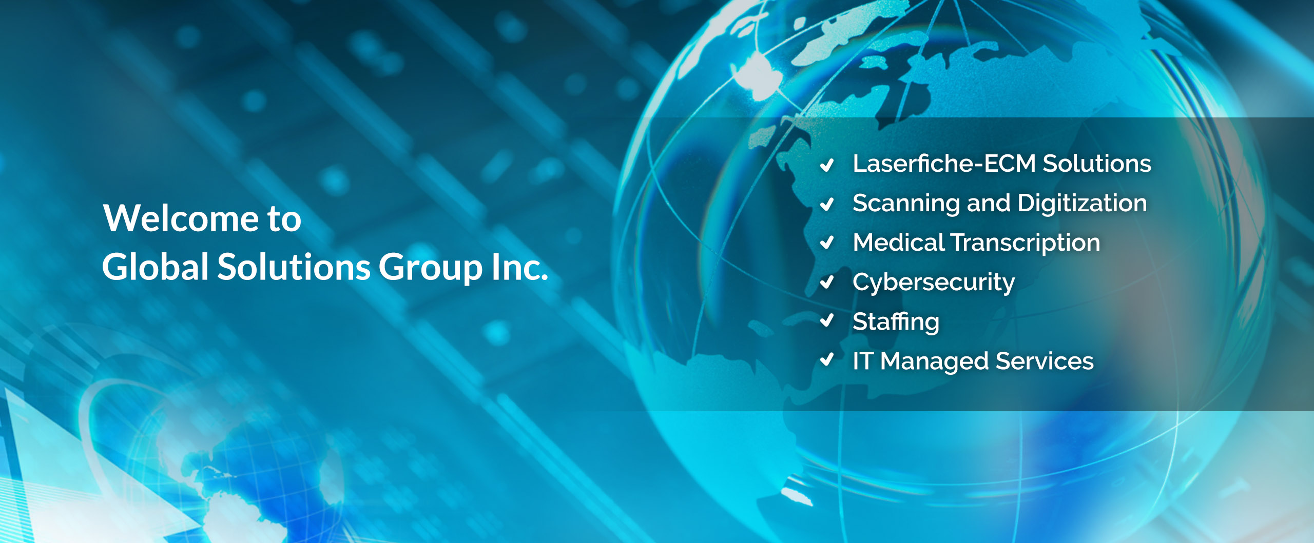 Welcome to Global Solutions Group